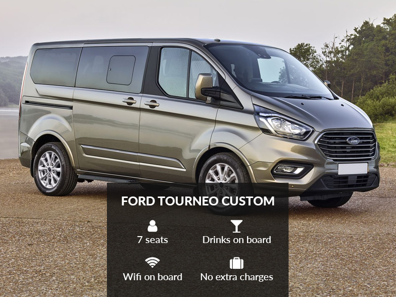 Ford Tourneo Custom – Modularity & Technology