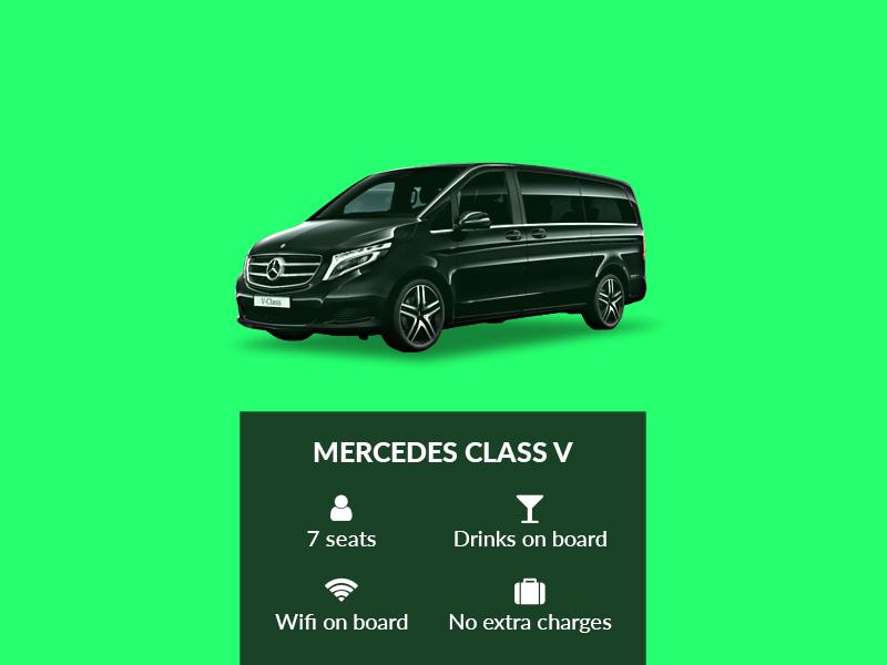 Mercedes Class V – Elegance & space